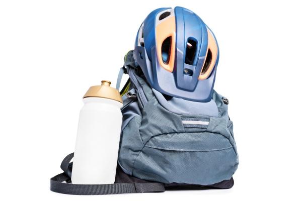 set of mountain biking accessories