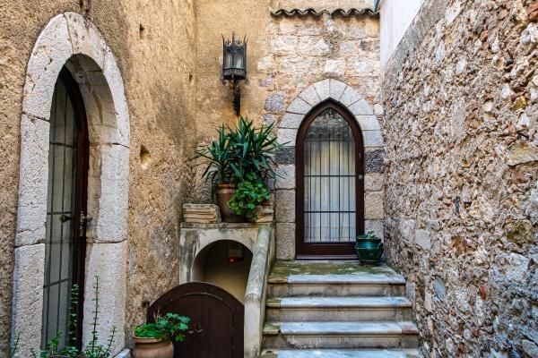 sicilian baroque house