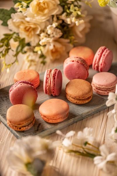 french almond meringue cookies