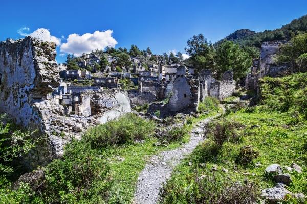 the abandoned greek village of kayakoy