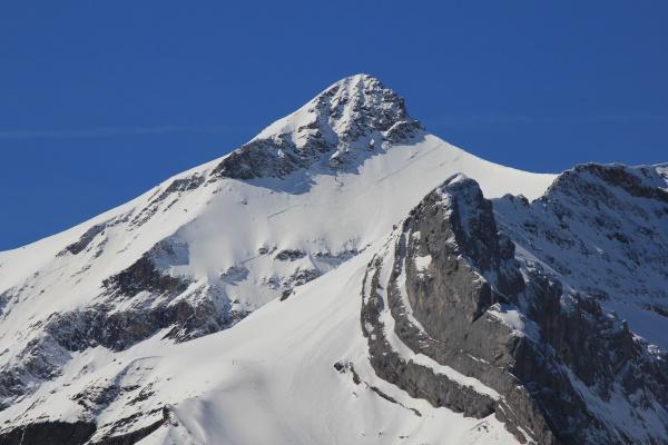 peak of mount oldehore switzerland