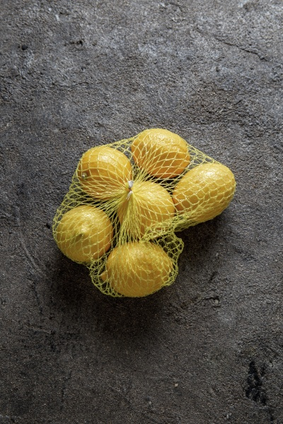 lemons in a bag