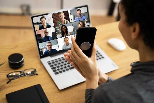 online business video conference call