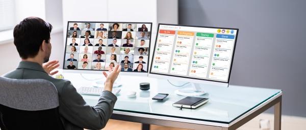 online remote video conference webinar meeting