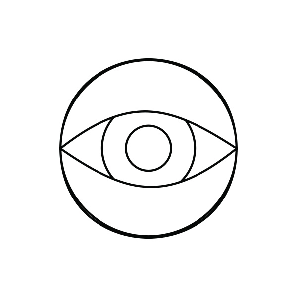 hidden camera icon outline style