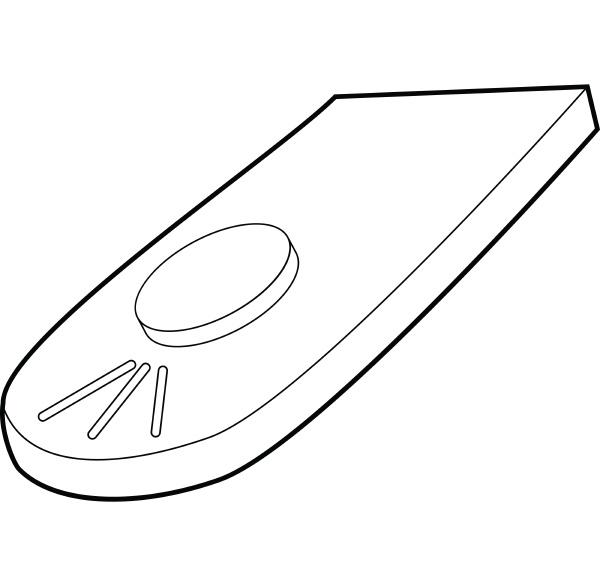 remote control for camera icon outline