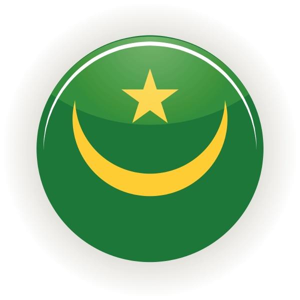 mauritania icon circle