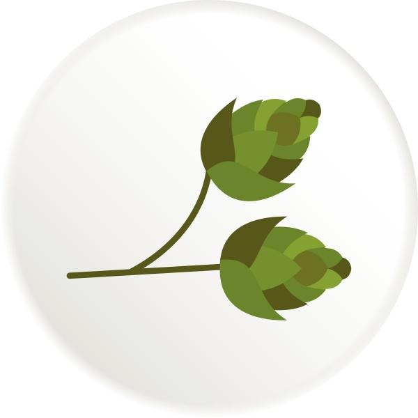 hops icon flat style