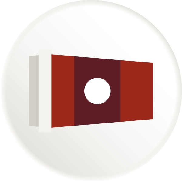 cup of coffee icon flat style