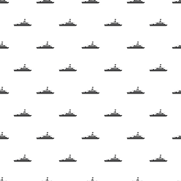 military navy ship pattern simple
