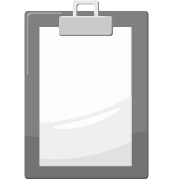 document icon gray monochrome style