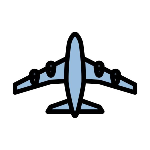 airplane takeoff icon