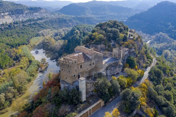 castle of castellbell in the province
