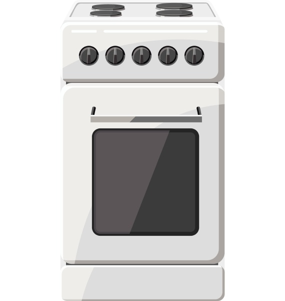 stove for cooking icon gray monochrome