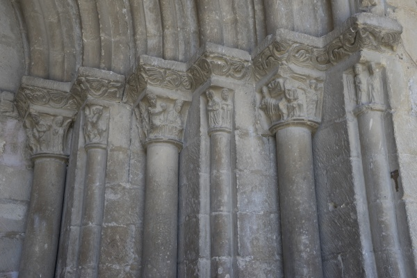 romanesque church in the valle de