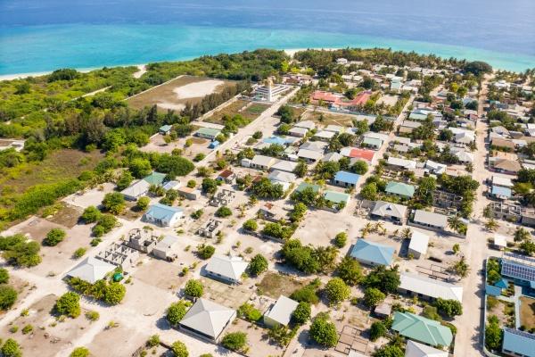 panoramic aerial view of utheemu