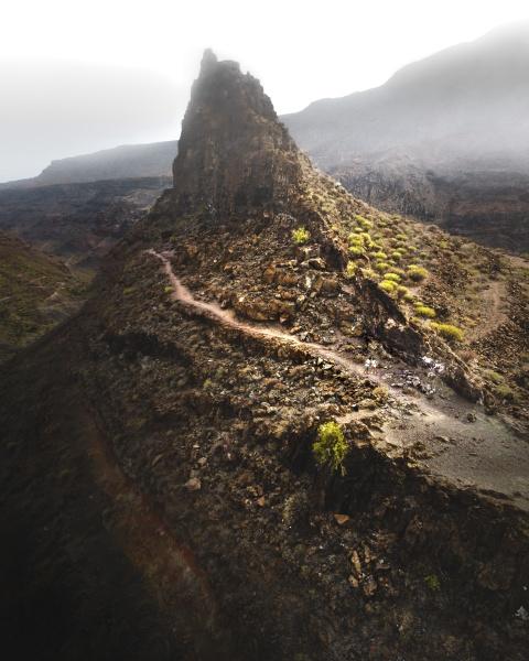 aerial view of mirador la fortaleza