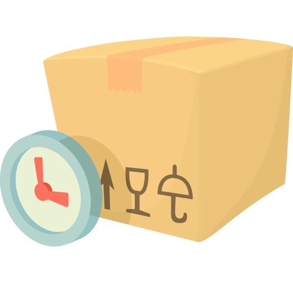 weight box icon cartoon style
