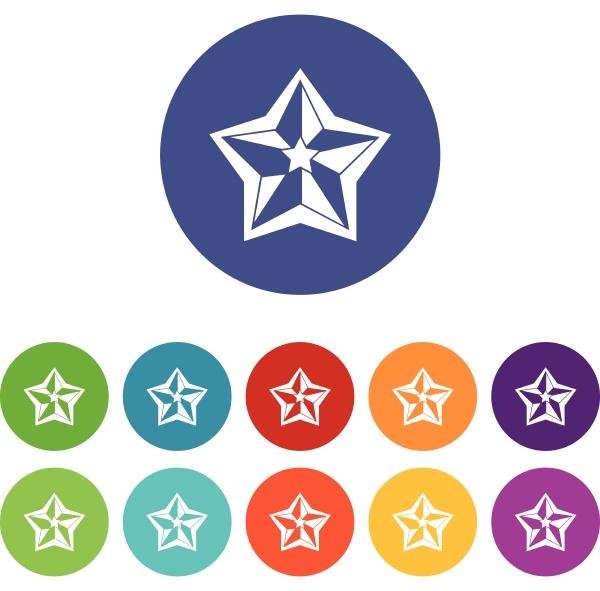 star set icons