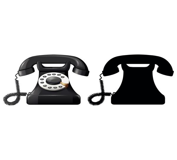 set of telephone design