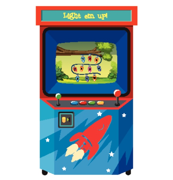 game machine for counting numbers on