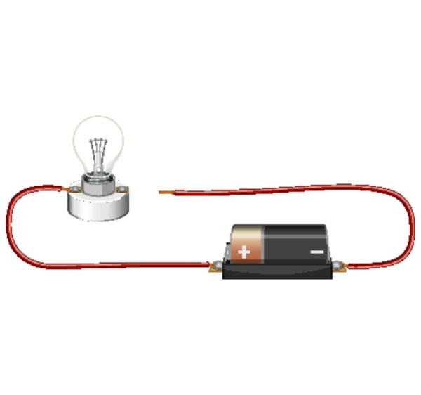 science experiment of electrical circuit