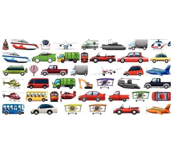set of transportation vehicle