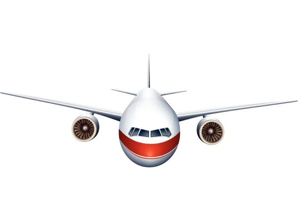 an airplane