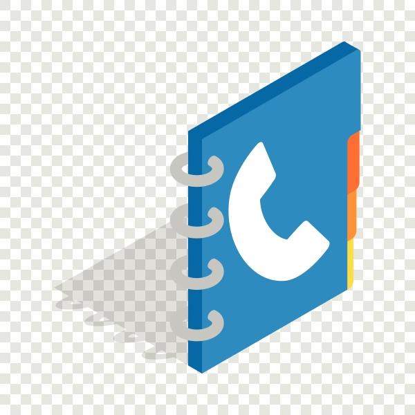 notebook isometric icon