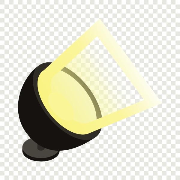 spotlight isometric icon