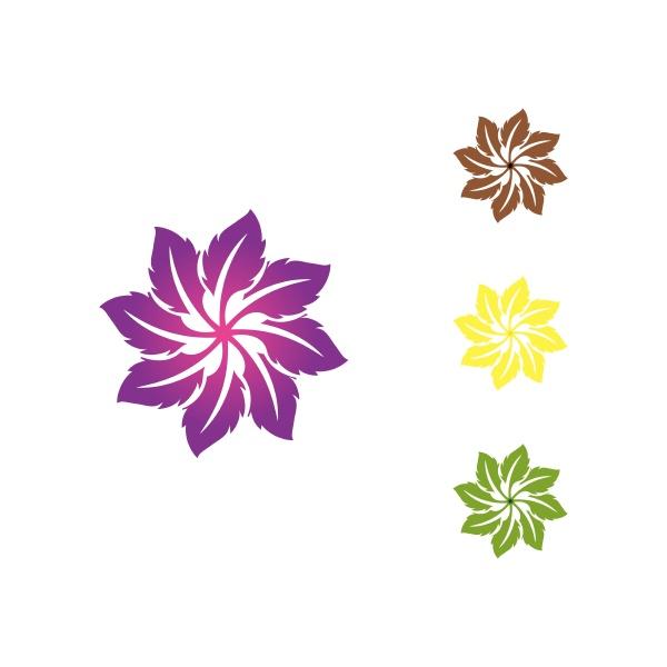 green tree leaf logo ecology