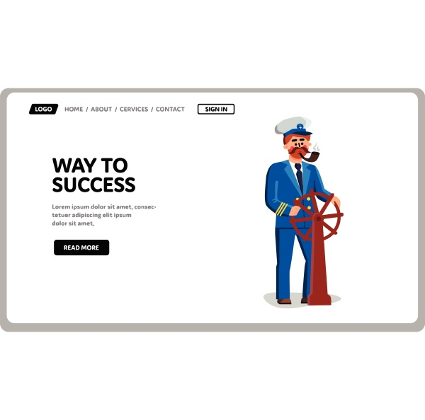 captain search and leading way to