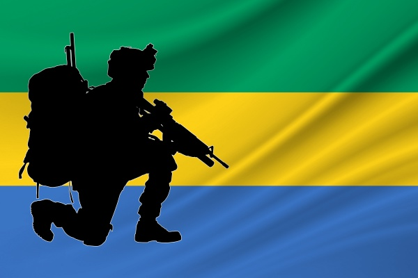 independence day gabon military of
