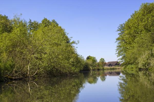 niers river lower rhine region germany