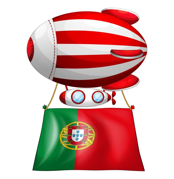 the flag of portugal and the