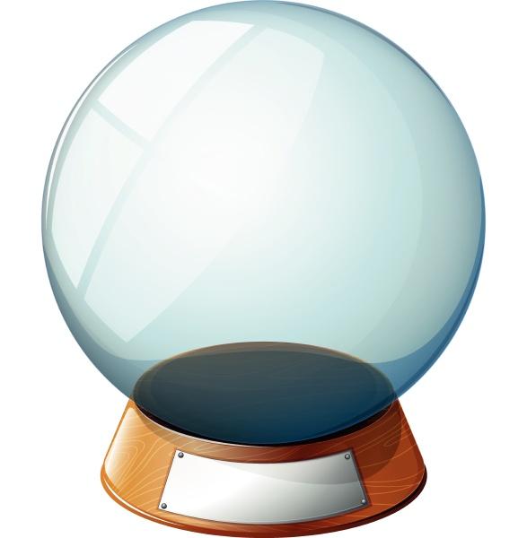 an empty magic ball