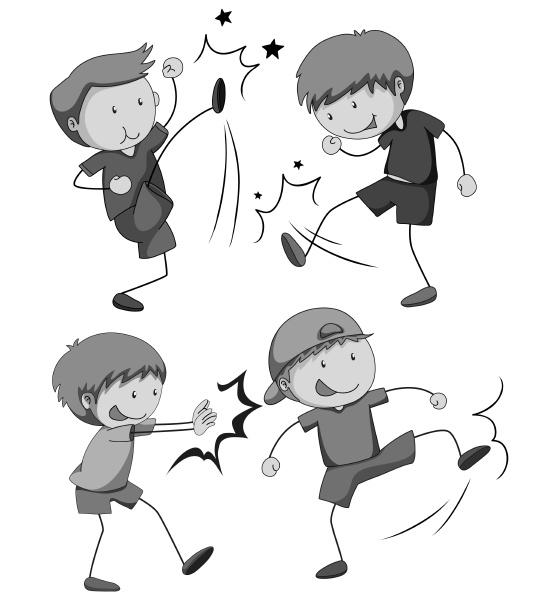 boy fighting