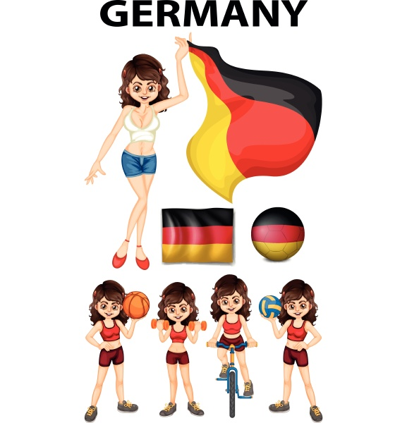 germany representative and many sports