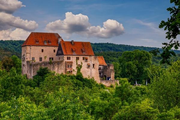 the castle of tannenburg at nentershausen