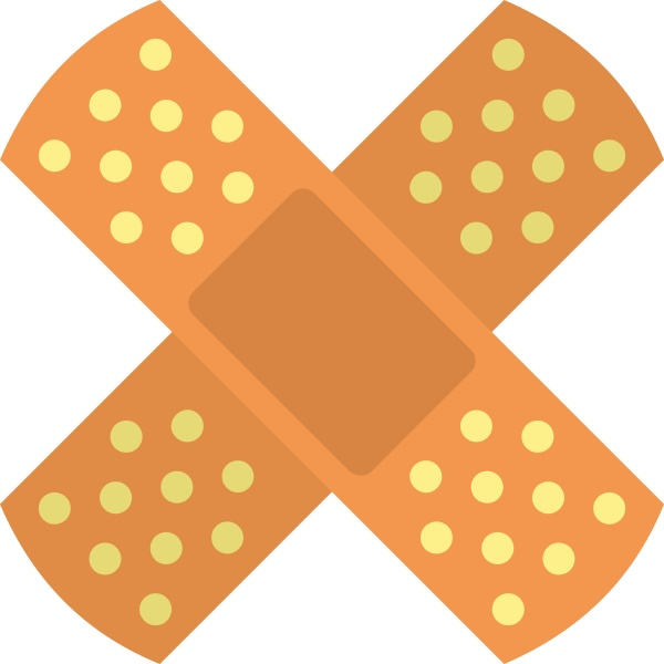patch icon isolated