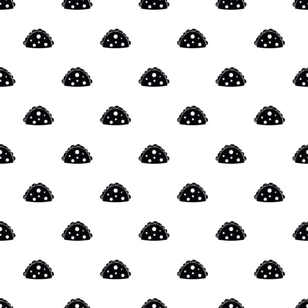 hamburger pattern vector