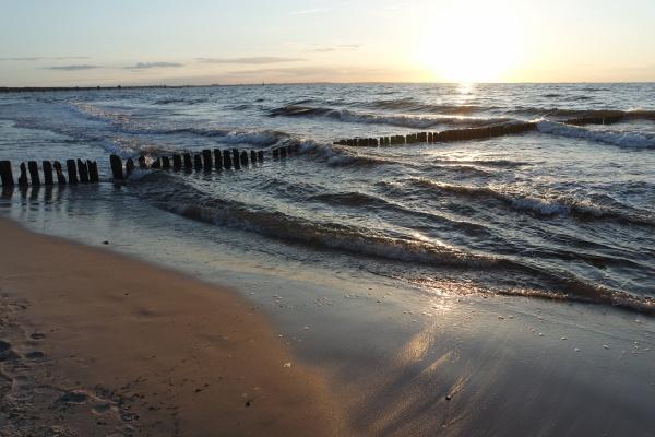 baltic sea landscape in pomerania