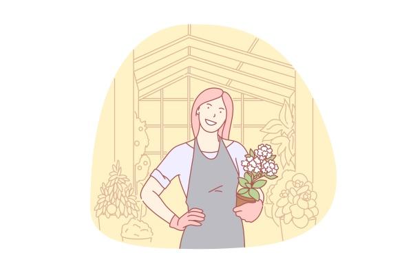 gardening floral organic