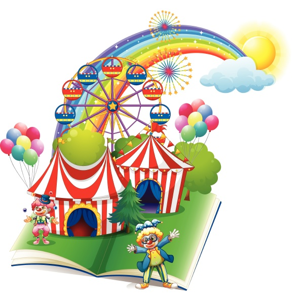 a storybook about the carnival