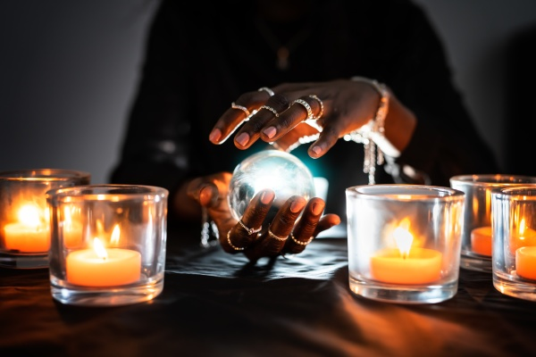 fortune teller predicting future