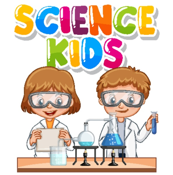 font design for word science kids