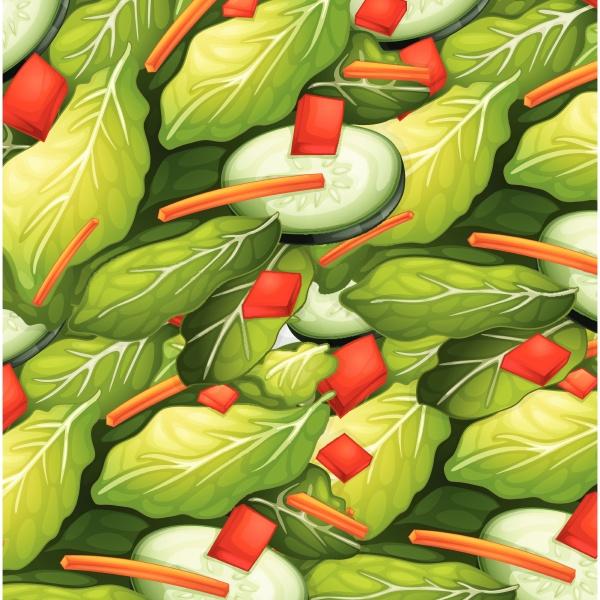 close up healthy salad dish