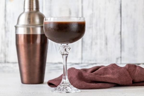 chocolate orange espresso martini cocktail