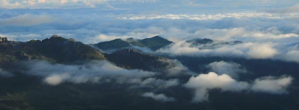 fogy summer morning in entlebuch lucerne
