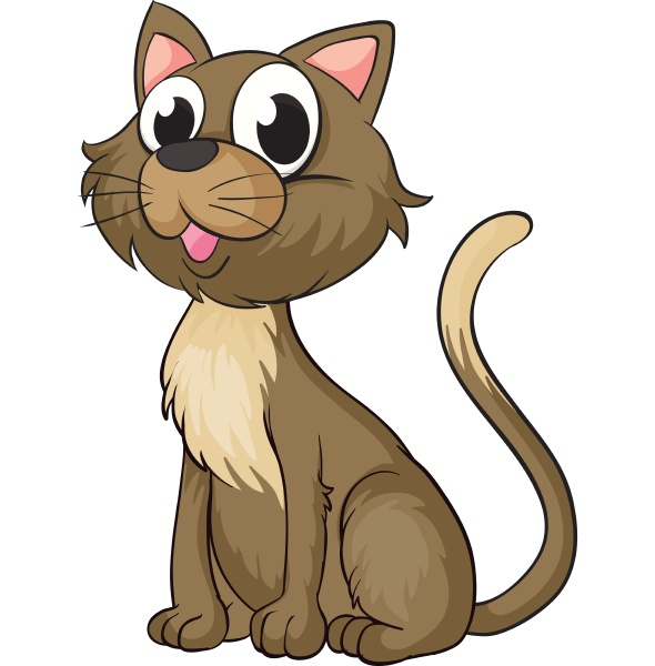 a smiling cat